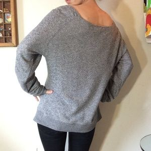 Disney Tops - Disney Mickey Mouse Slouchy Grey Sweatshirt